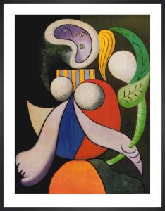 Femme á la Fleur, 1932 by Pablo Picasso