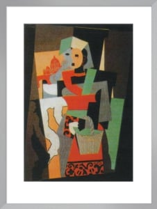 L'Italienne, 1917 by Pablo Picasso