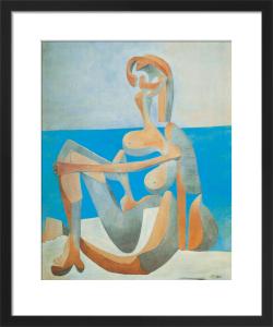 Baigneuse Assise au Bord de la Mer, 1930 by Pablo Picasso