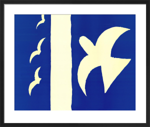 Oiseaux, 1955 by Georges Braque