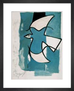 L'Oiseaux Bleu et Gris by Georges Braque