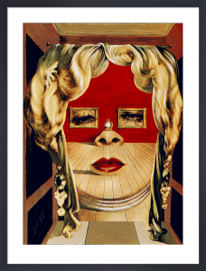 Face of Mae West, 1935 by Salvador Dali