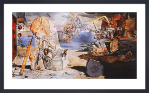 The Apotheosis of Homer by Salvador Dali