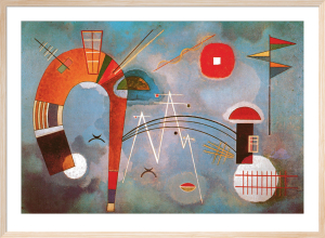 Round and Sharp, 1940 by Wassily Kandinsky