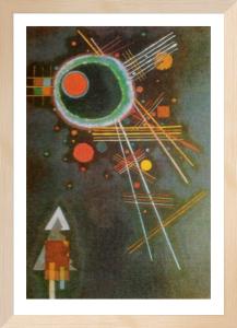 Strahlenlinien by Wassily Kandinsky