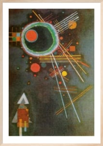 Strahlenlinien by Wassily Kandinsky