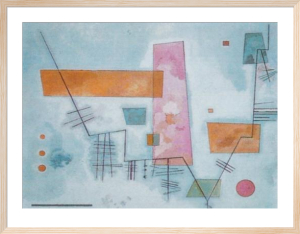 Angular Structure by Wassily Kandinsky