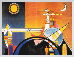 The Great Tower of Kiev by Wassily Kandinsky