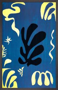 Composition Fond Bleu, 1951 by Henri Matisse