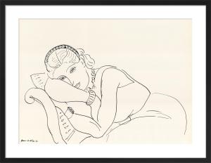 Jeune Fille avec Tiare, 1936 by Henri Matisse