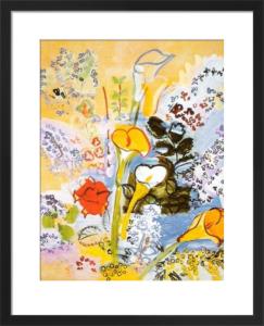Le Bouquet d'Arums, 1939 by Raoul Dufy