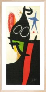 Le Sarrasin a l'Etoile by Joan Miro