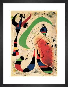 La Nuit by Joan Miro