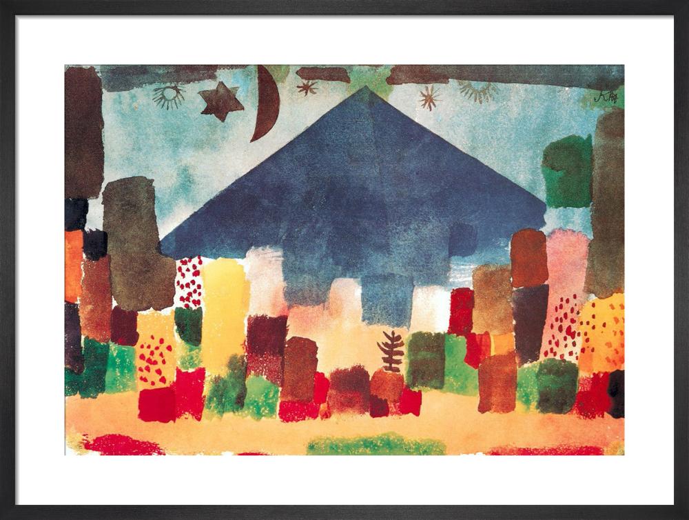 Eygptian Night by Paul Klee