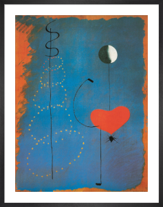 Ballarina II, 1925 by Joan Miro
