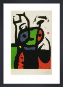 The Matador by Joan Miro