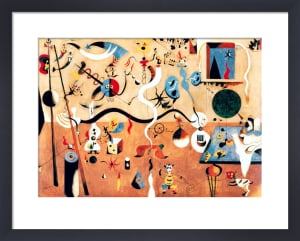 Carnival of Harlequin by Joan Miro