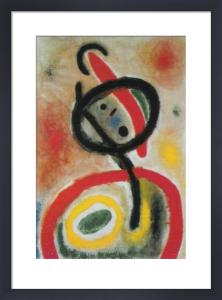 Femme III, 2.6.65 by Joan Miro