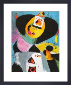Portrait Nr 1 by Joan Miro
