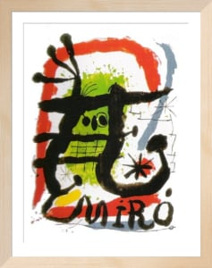 Affiche Lithographie by Joan Miro