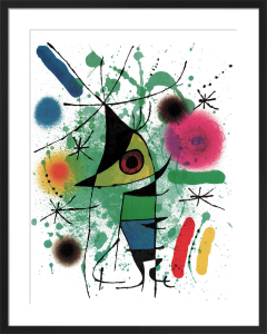 The Singing Fish by Joan Miro