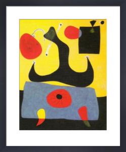 Femme Assise, 1933 by Joan Miro