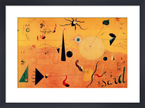 Paysage Catalan by Joan Miro