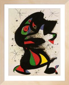 Upright Figure by Joan Miro