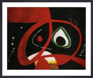 Head by Joan Miro