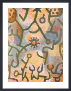 Plants on Rocks, 1940 by Paul Klee