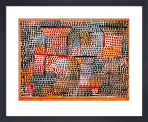 Kreuze und Saeulen by Paul Klee