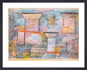 Kreuze und Saeulen by Paul Klee
