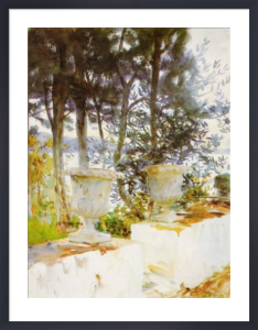 Corfu: The Terrace by John Singer Sargent
