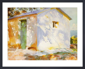 Corfu: Lights and Shadows by John Singer Sargent