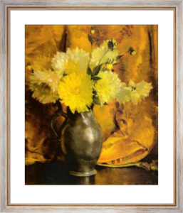 Yellow Dahlias by Laura Coombs Hills