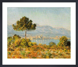 Antibes seen from the Plateau Notre-Dame by Claude Monet