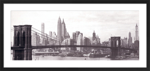 Brooklyn Bridge by Anonymous