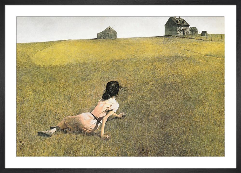 Christina S World Art Print By Andrew Wyeth King Amp Mcgaw