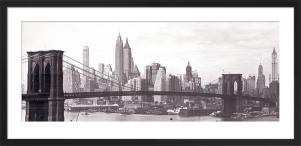 Brooklyn Bridge by Anonymous