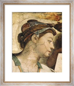 Portrait : Erythrean Sibyl by Michelangelo