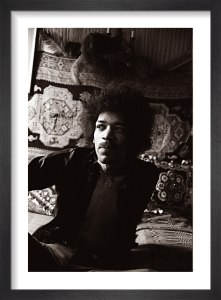 Jimi Hendrix by Mirrorpix