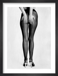 Chris Maxey's legs in tights, 1976 by Mirrorpix