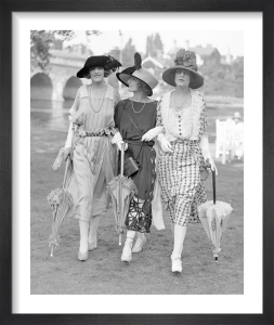 Ascot Fashion, 1921 Cambridge by Mirrorpix