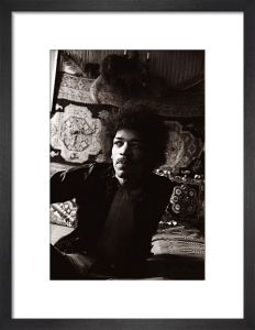 Jimi Hendrix by Mirrorpix