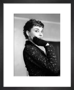 Audrey Hepburn, September 1954 by Mirrorpix
