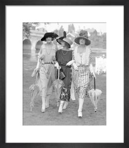 Ascot Fashion, 1921 Cambridge by Mirrorpix