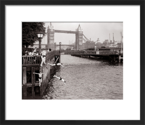Hot Weather, London Tower Bridge - June 1952 by Mirrorpix