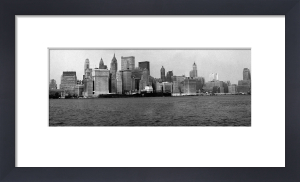 New York Skyline and Waterfont, 1960s by Mirrorpix
