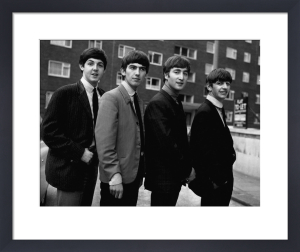 Beatles Group in 1963 by Mirrorpix