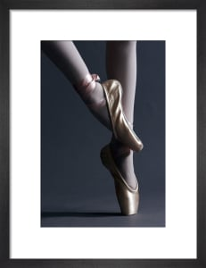 Ballet shoes by Mirrorpix